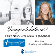 Creekview HS Congressional Art Award Winner 5 5 21