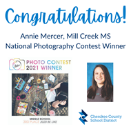 Mill Creek MS Photo Contest Winner 5 4 21
