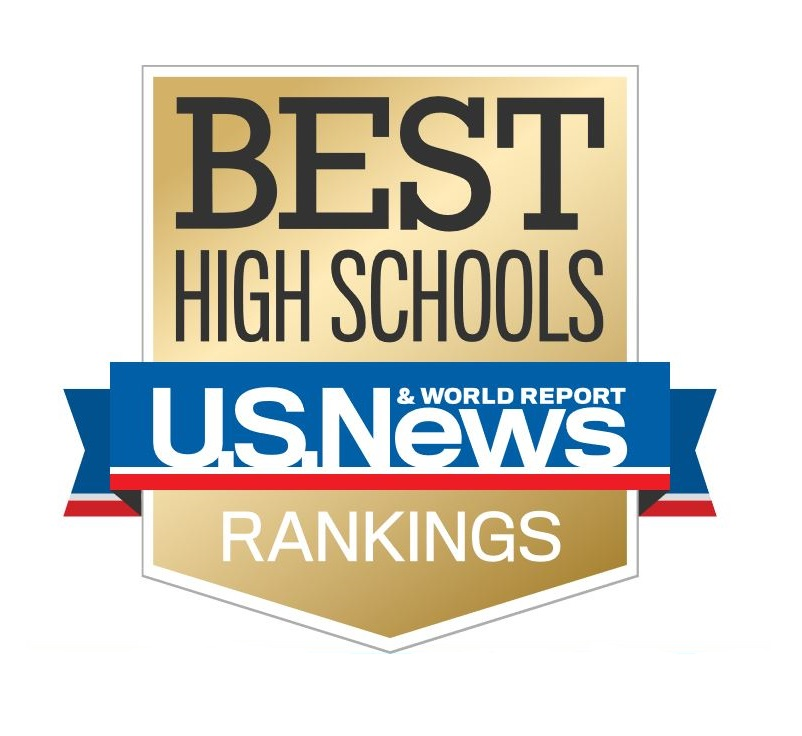 us news best high schools badge