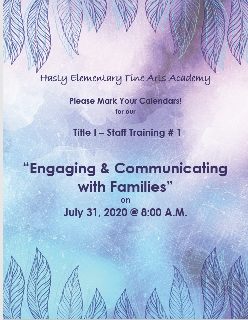 Engaging and Communicating with Families