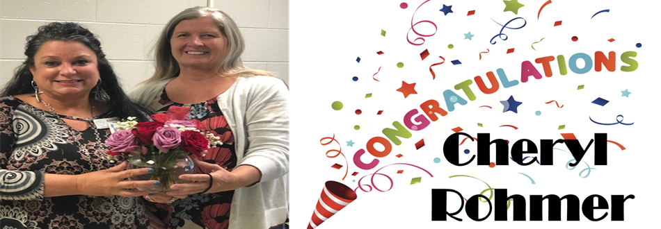 Cheryl Rohmer - classified employee of the year