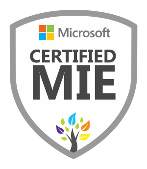 Microsoft Certified MIE badge