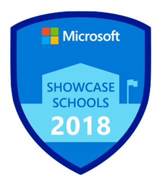 Microsoft Showcase School badge icon