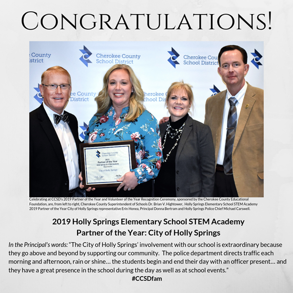 Stem Schools In Ga: Meet A CCSD 2019 Partner Of The Year: City Of Holly